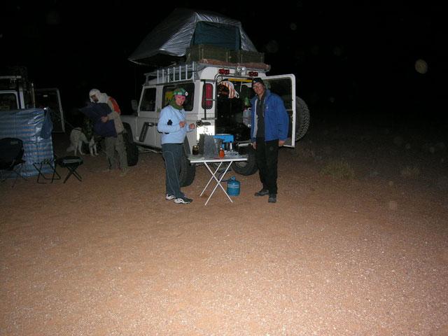 Raid in libia - Tenda da tetto oasis ...