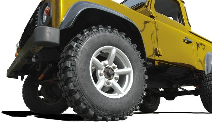 Zu Rims Cerchi Land Rover Defender Discovery Range