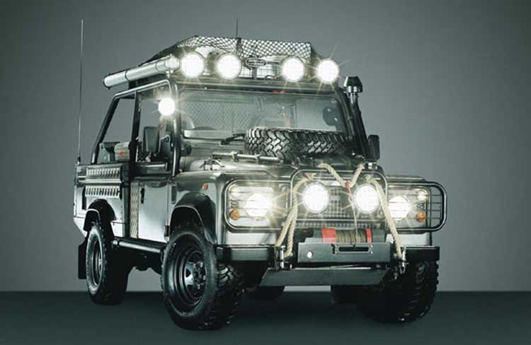 4 4 off road day for partners report and gallery zen for Arceau exterieur defender 90