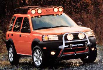 Freelander Kalahari A Land Rover Concept