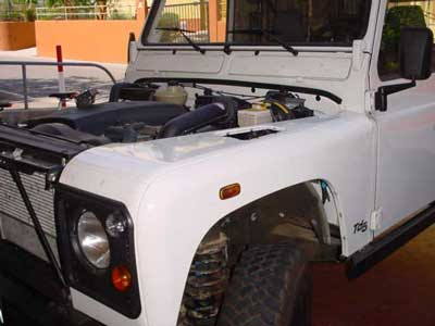 Roll Cage Installation Defender 90 Soft Top